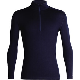 Icebreaker 260 Tech LS Half Zip Shirt Men midnight navy